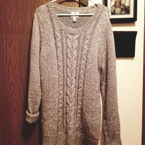 Detachable Cowl Neck Sweater like new never worn